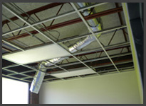 Ceiling Ductwork
